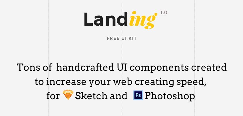 Download Free Landing UI Kit