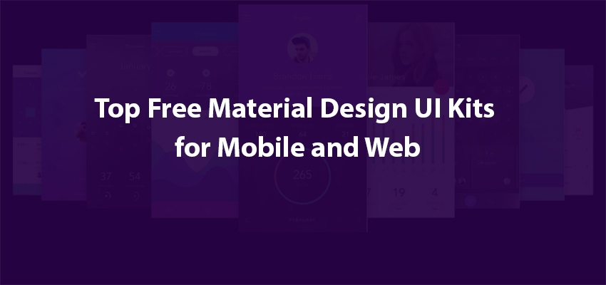 Free-Material-Design-UI-kits