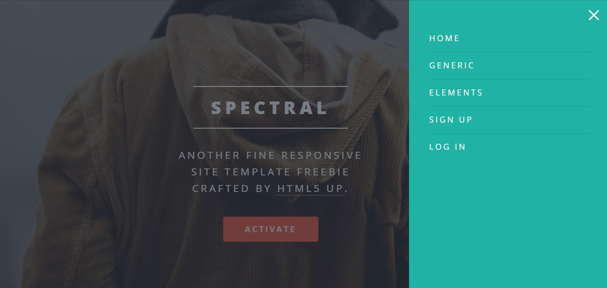 spectral material desin theme