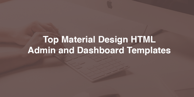 dashboard-material-templates
