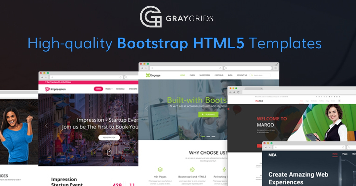 Responsive HTML Templates & Themes