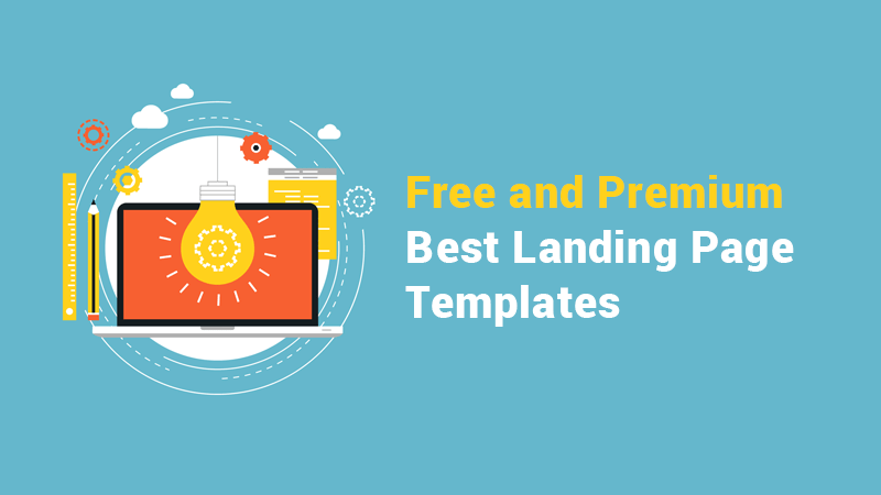 Best Free Premium Bootstrap Landing Page Templates - Bootstrap landing page template