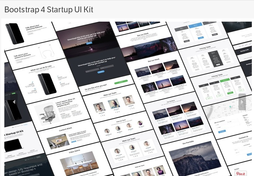 20 Amazing Free Bootstrap 4 Templates | UIdeck