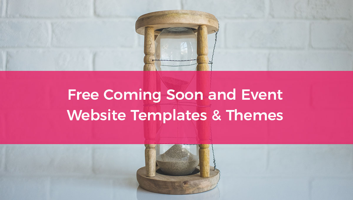 16 Free Coming Soon Website Templates and Themes