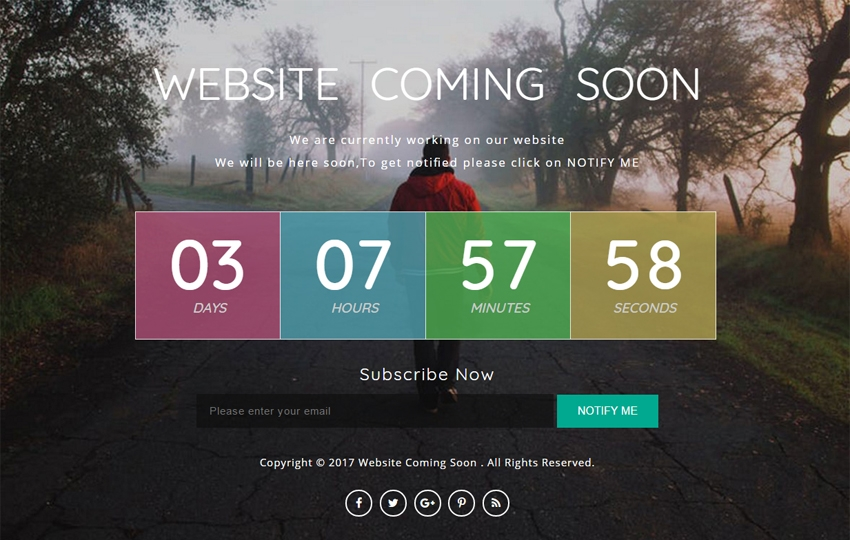 16 free coming soon website templates and themes uideck website coming soon a flat responsive widget template maxwellsz
