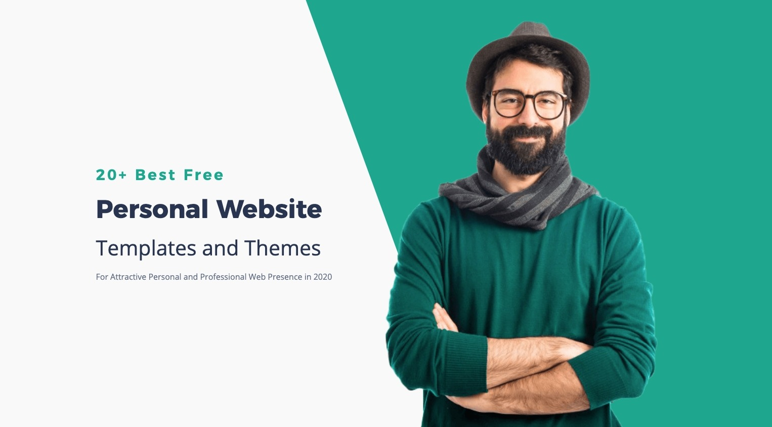 14 Free Personal Website Templates For Attractive Web Presence in 2021