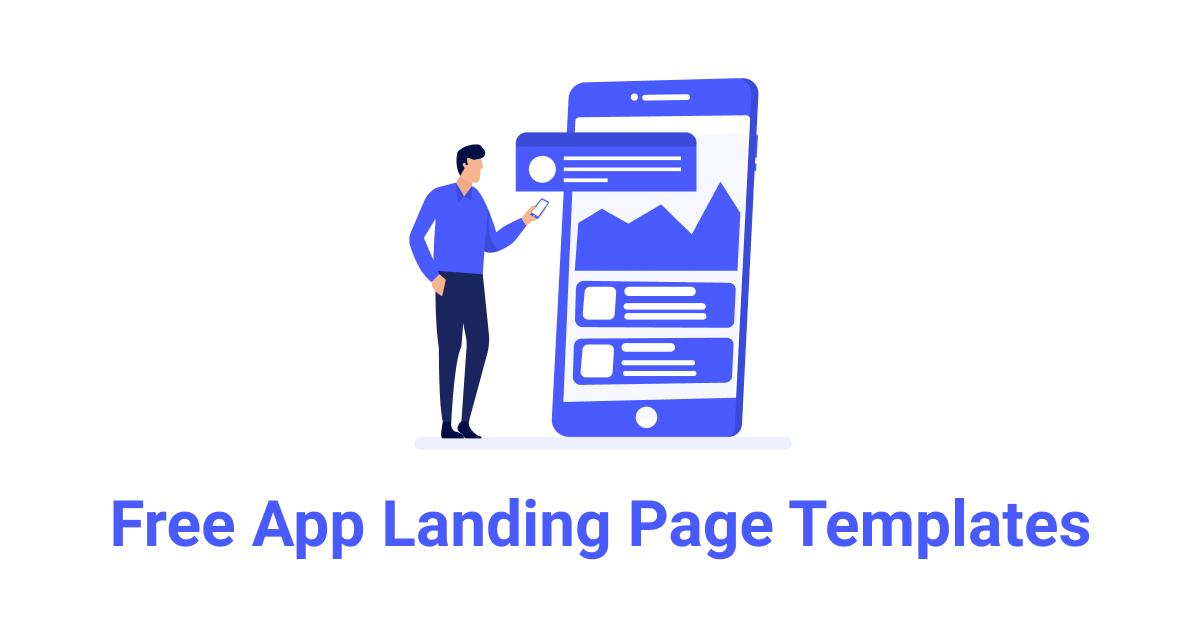 15+ Free HTML App Landing Page Templates