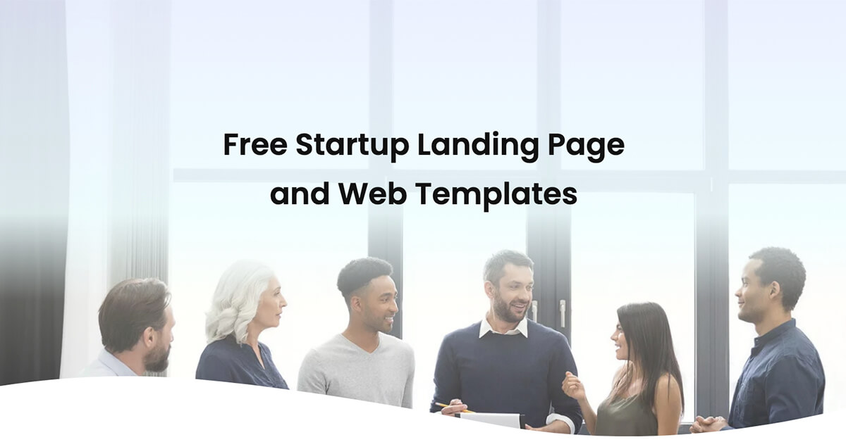 15+ Free Startup Landing Page and Web Templates