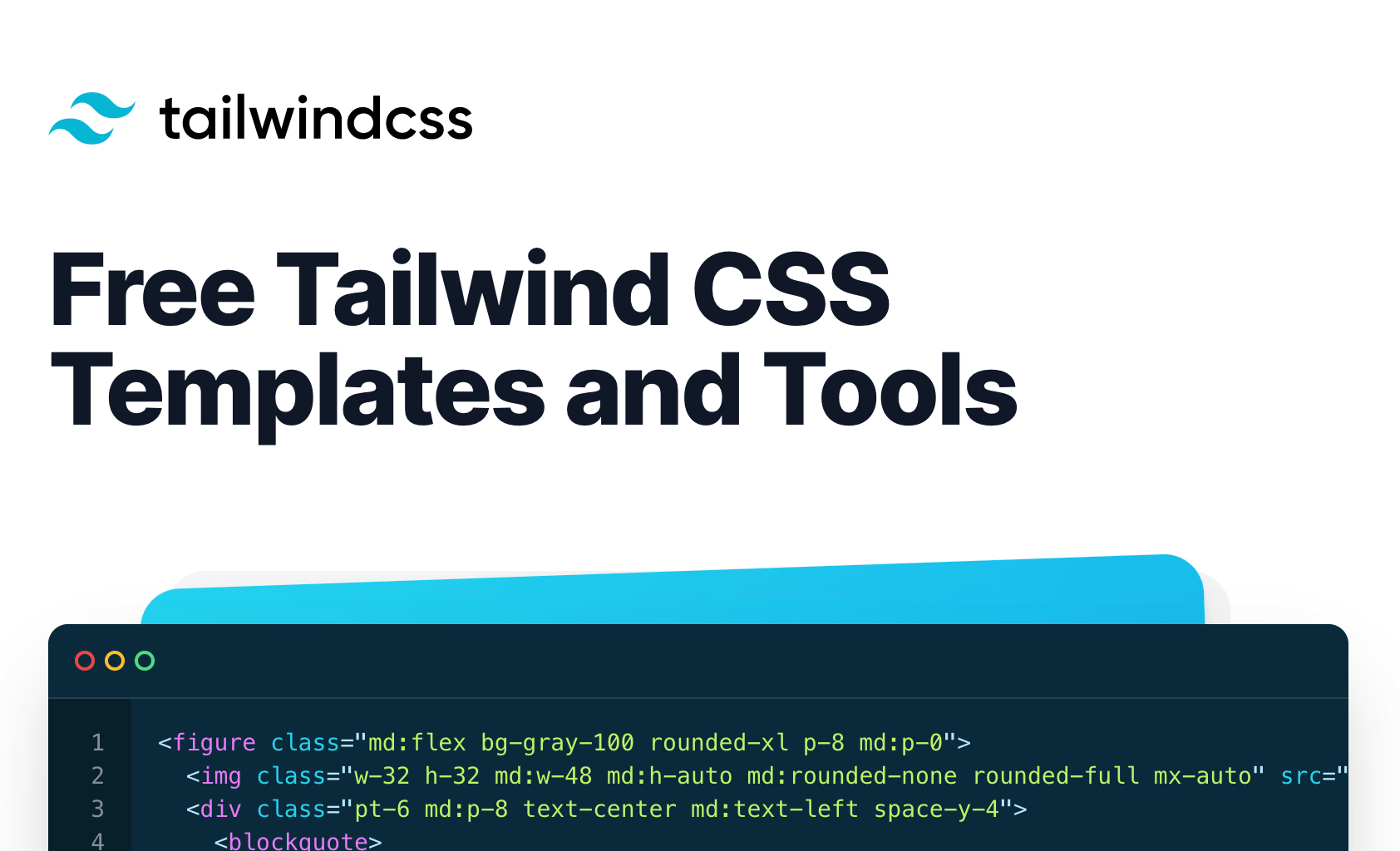 12+ Free Tailwind CSS Templates And Tools