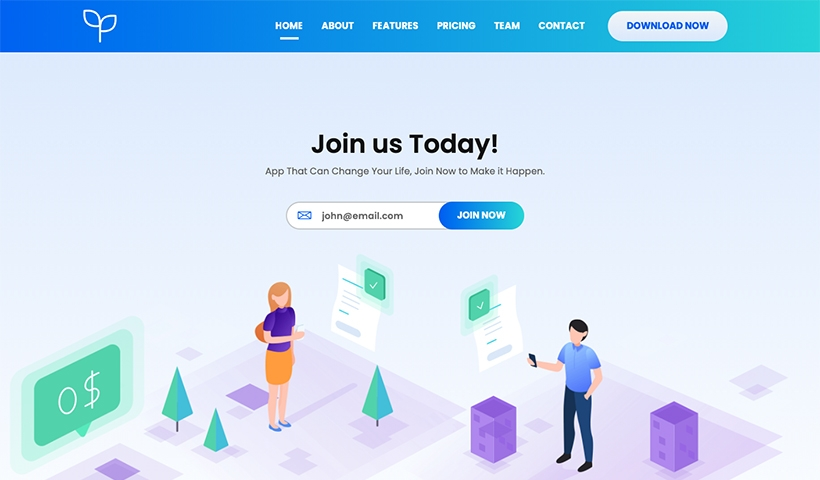 Sprout – Simple SaaS and Software Landing Page
