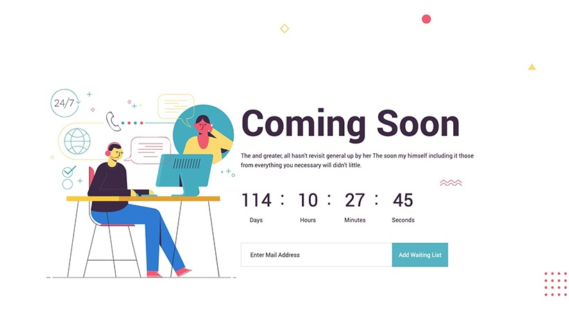 Appear – Coming Soon and Under Construction Template