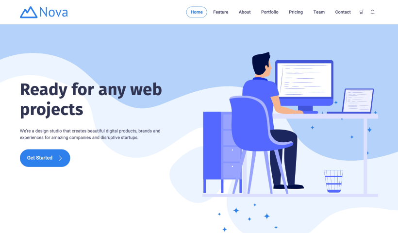 Nova – Free Bootstrap 5 Business Template
