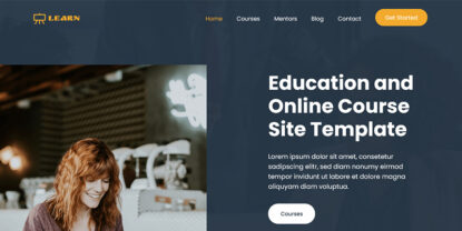 Learn – Education and Online Course HTML Template