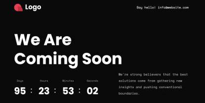 Sooner – Free Under Construction HTML Template